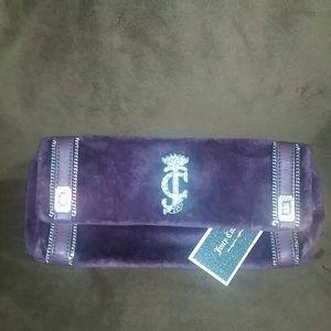 Juicy Couture velvet clutch bnwt